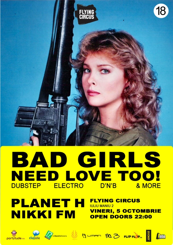 Bad girls need love too! @ Flying Circus Pub