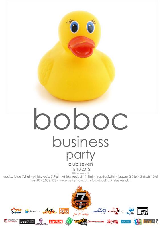 Boboc Business Party @ Club Seven