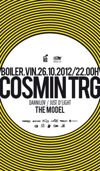 Cosmin TRG / The Model @ Boiler Club
