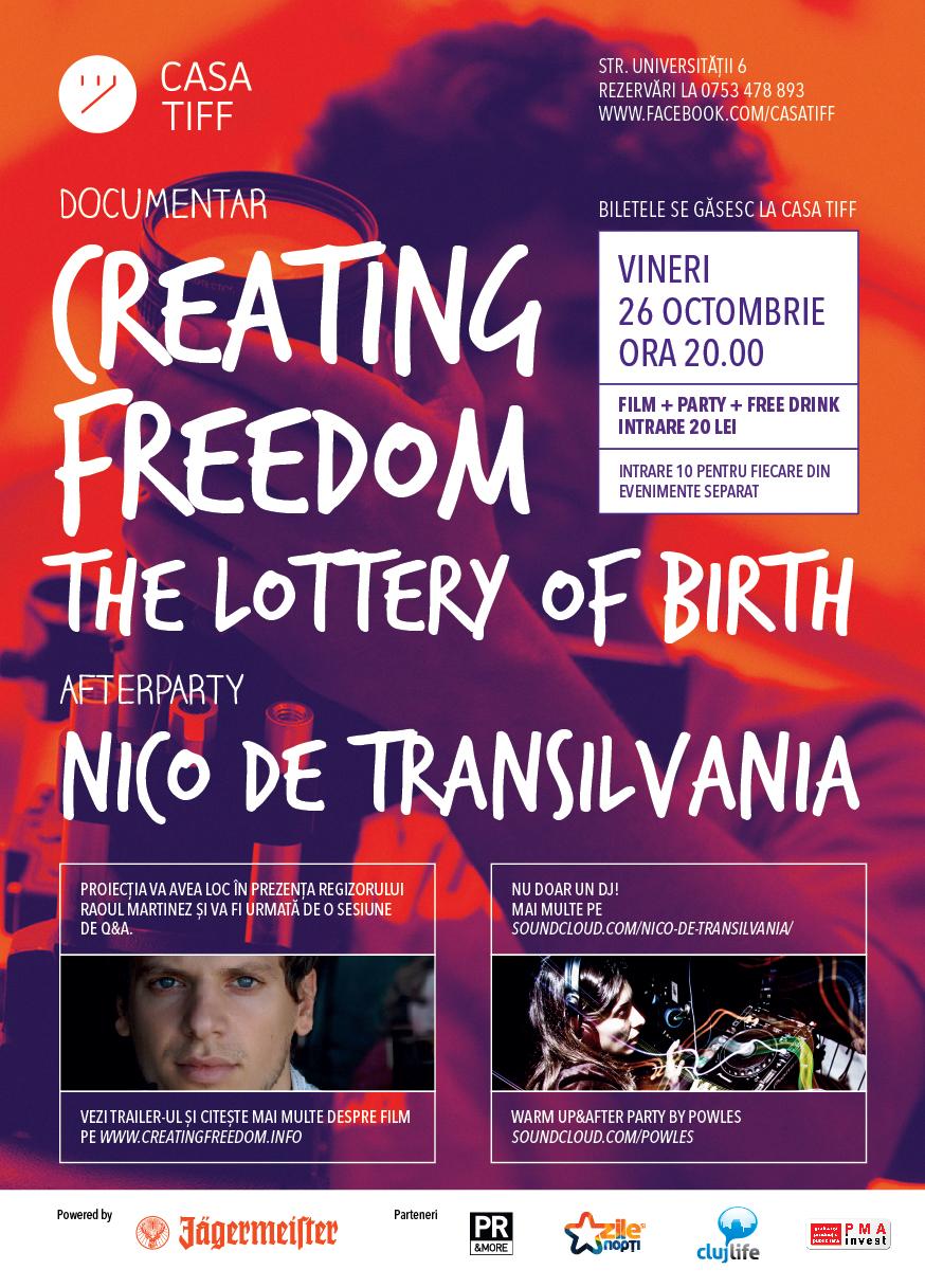 Creating Freedom @ Casa TIFF