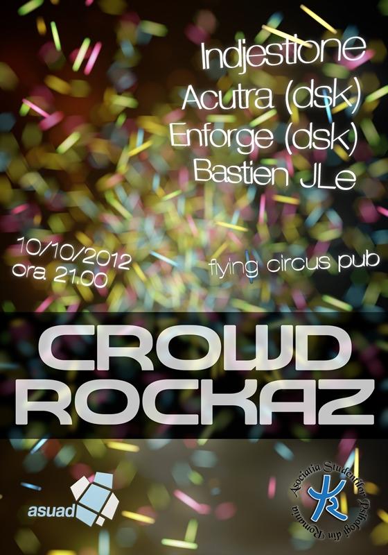 Crowd Rockaz @ Flying Circus Pub