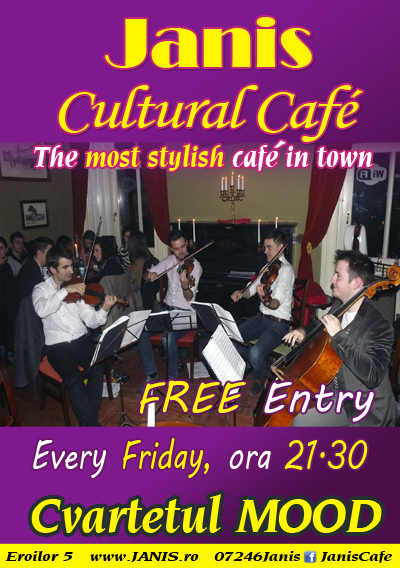 Cvartetul Mood @ Janis Cafe