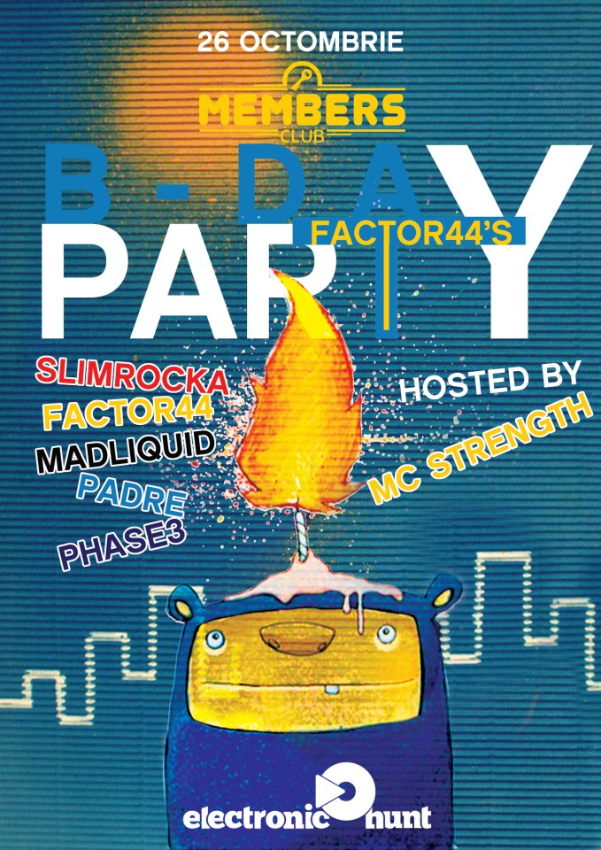Factor44's Bday Party @ Members Club