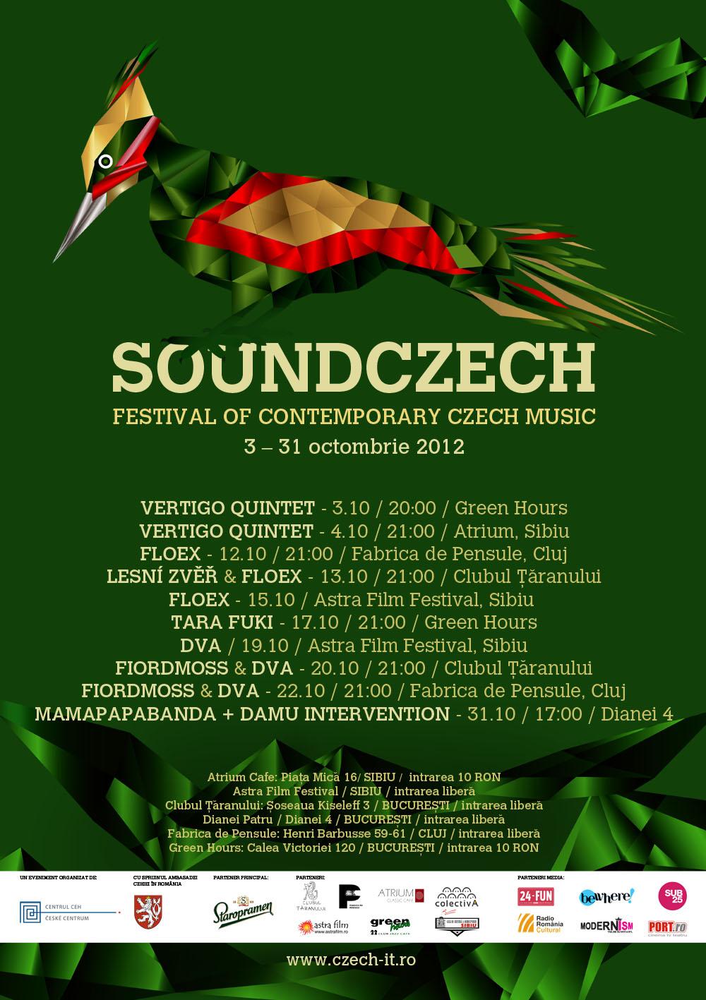 Cei mai originali muzicieni cehi contemporani – la Fabrica de Pensule