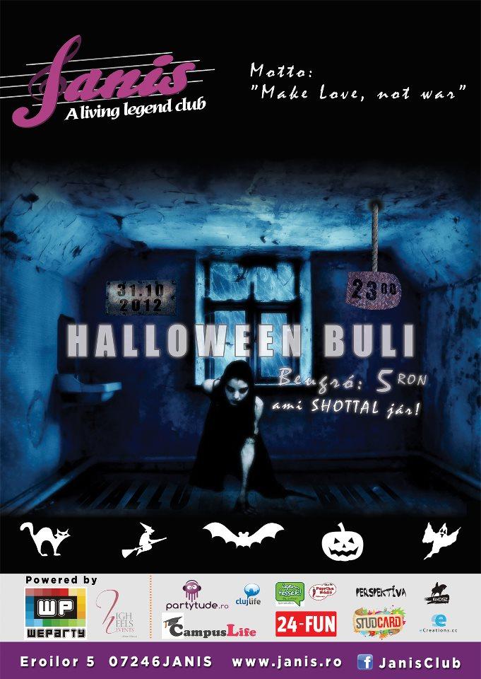 Halloween Buli @ Janis Club