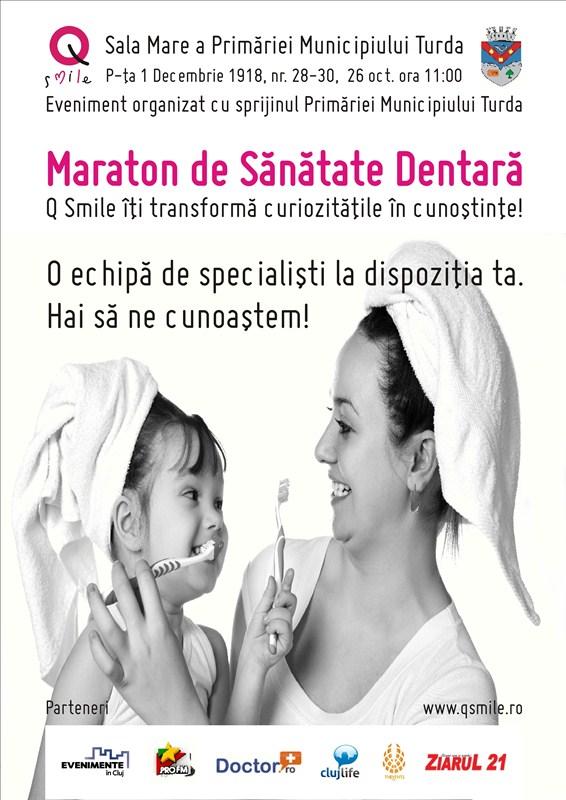 Maraton de sănătate dentară