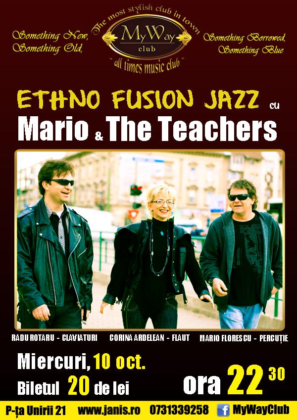 Mario & The Teachers @ My Way Club