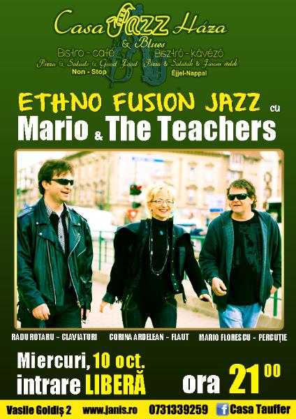 Ethno Fusion Jazz @ Casa Tauffer