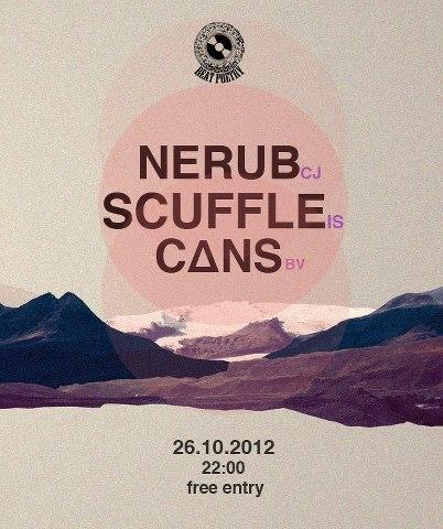 Nerub / Scuffle / Cans @ La Gazette
