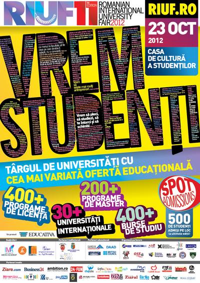 RIUF – editia a 11-a @ Casa de Cultura a Studentilor