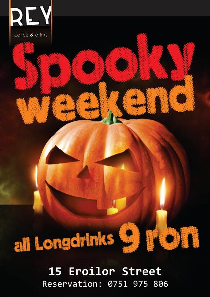 Spooky Weekend @ REY