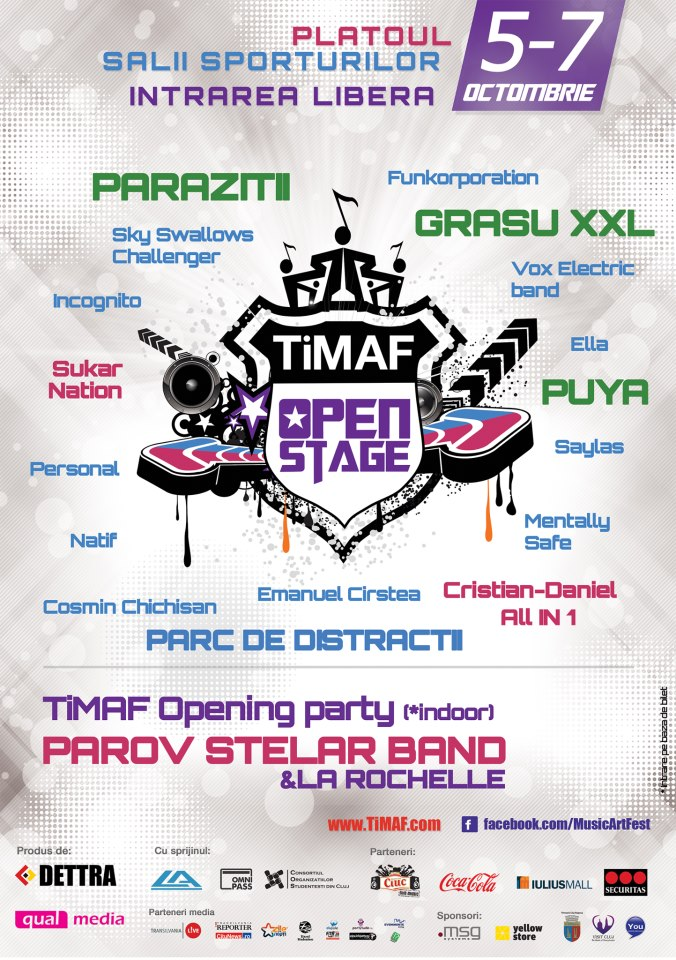 TIMAF 2012 – Open Stage