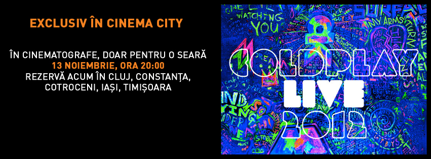Coldplay live @ Cinema City