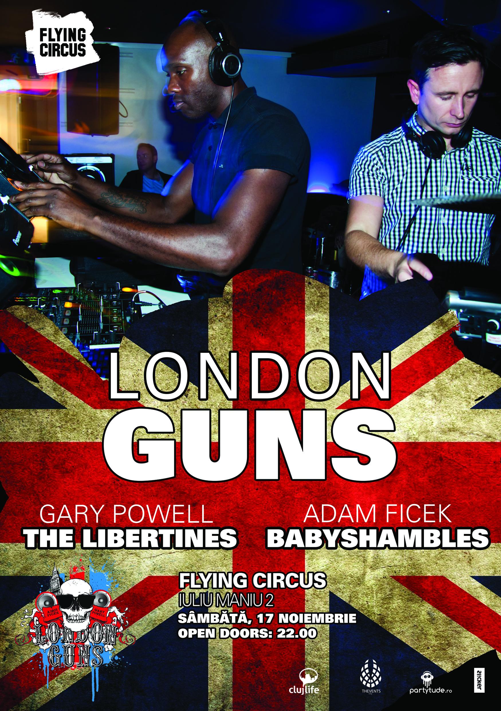 London Guns – The Libertines @ Flying Circus Pub