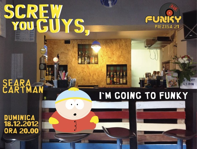 Seara Cartman @ Funky Bar