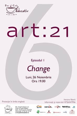 Proiectie Documentar Art 21 @ Piano Cazola