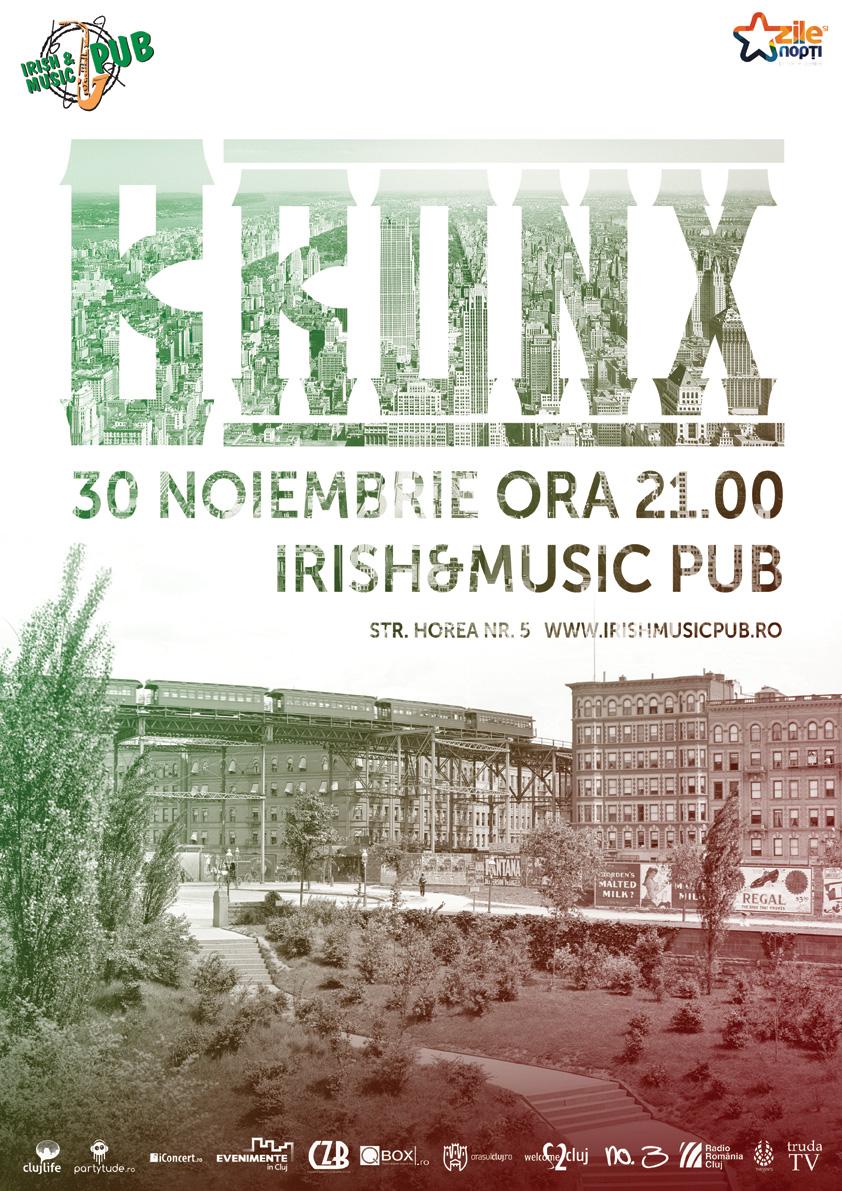 Bronx live @ Irish & Music Pub