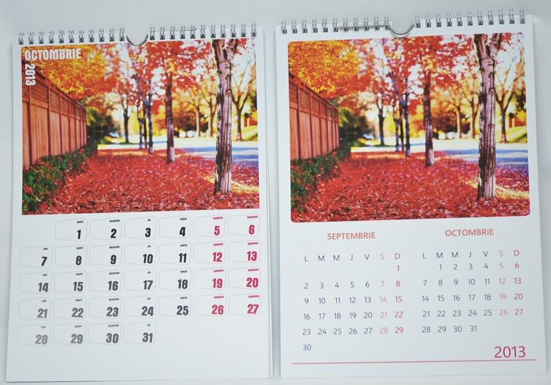 O idee de cadou: calendarele personalizate Colorama
