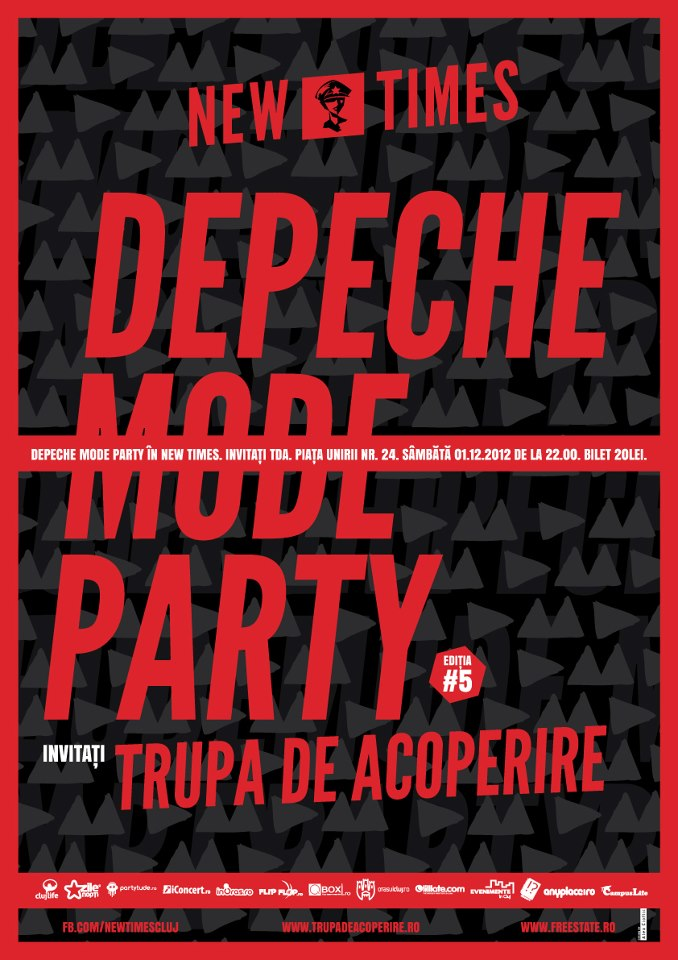 Depeche Mode Party @ New Times
