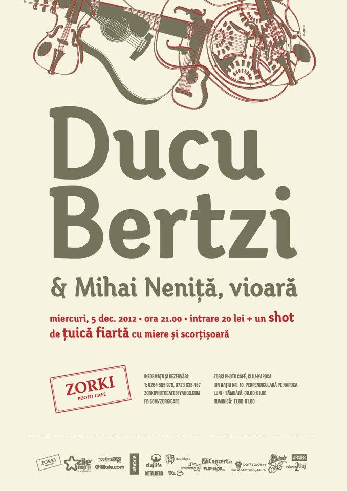 Ducu Bertzi @ Zorki Photo Cafe