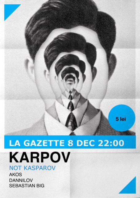 Karpov not Kasparov @ La Gazette