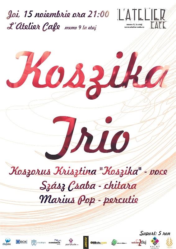 Koszika Trio @ L'Atelier Cafe