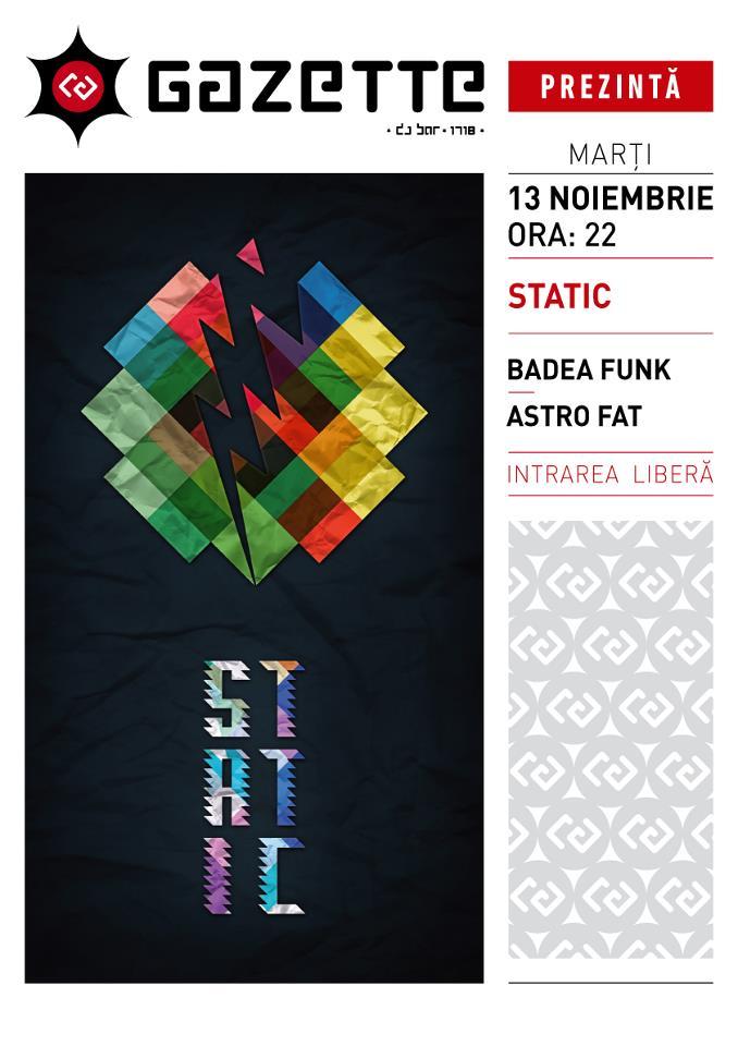 Static @ La Gazette