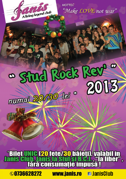 Stud Rock Rev 2013 @ Janis Club