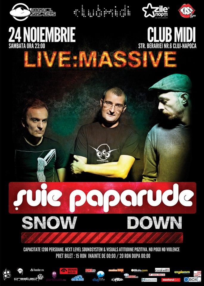 Live:Massive: Suie Paparude @ Club Midi
