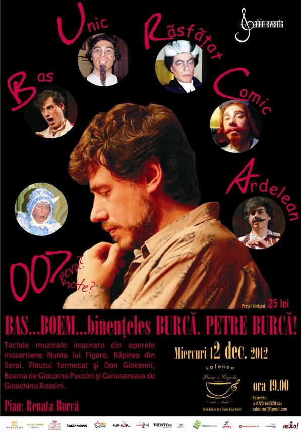 Petre Burcă @ Piano Cazola