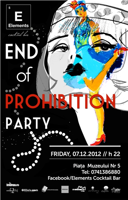 End of Prohibition Party @ Elements Cocktail Bar