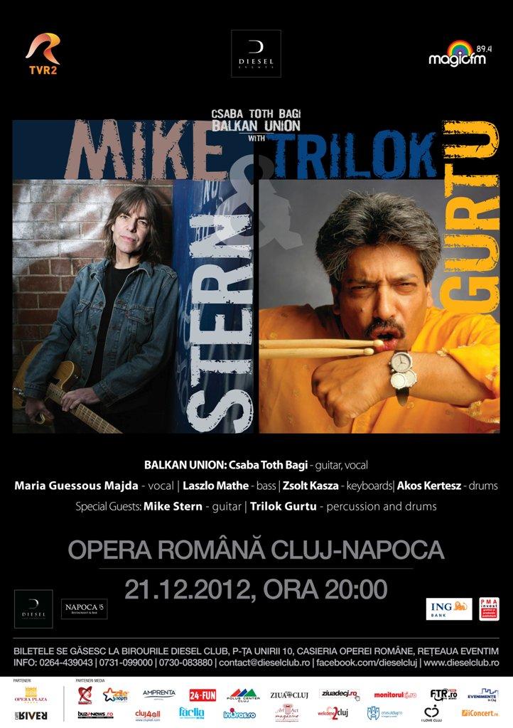 Mike Stern & Trilok Gurtu @ Opera Romana Cluj