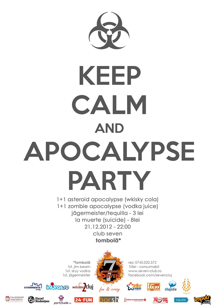 Apocalypse Party @ Club Seven