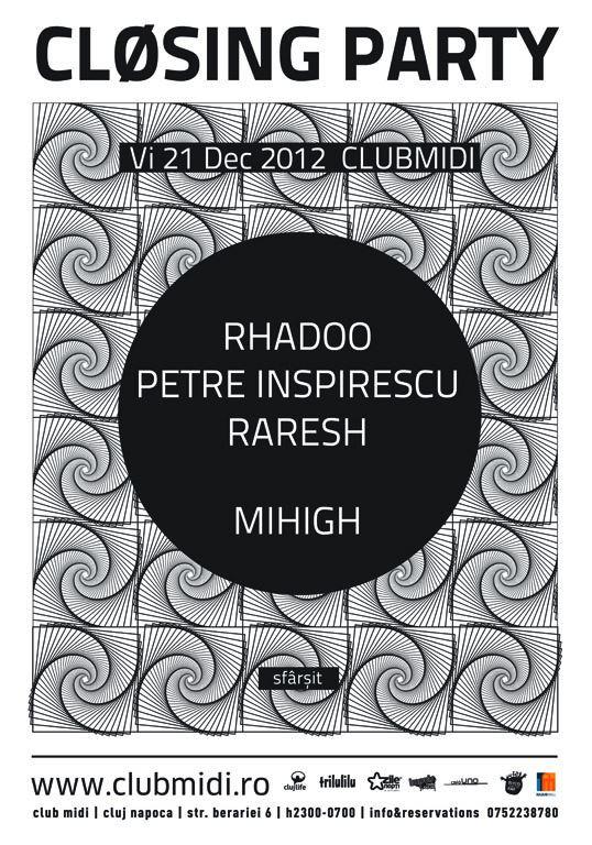 Closing Party: [a:arpia:r] / Mihigh @ Club Midi
