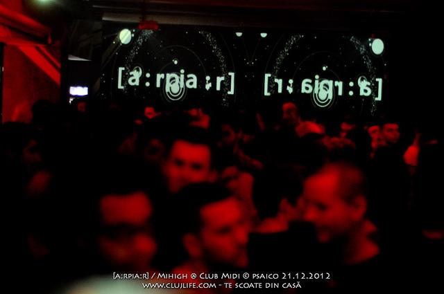 Poze: [a:rpia:r] / Mihigh @ Club Midi