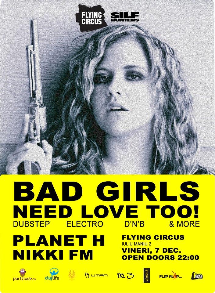 Bad Girls Need Love Too! @ Flying Circus Pub