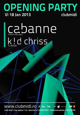 Cabanne @ Club Midi