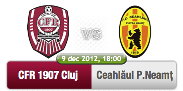 CFR Cluj – Ceahlăul Piatra Neamț @ Stadion Dr. Constantin Rădulescu