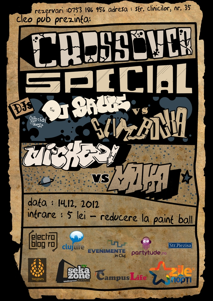 Crossover Special @ Cleo Pub