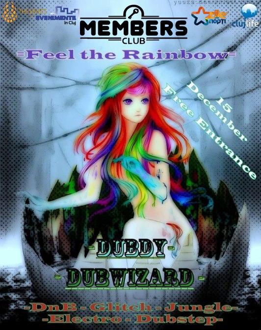 Feel the rainbow @ Members Club