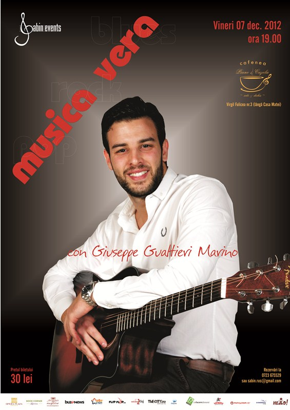 Giuseppe Gualtieri Marino @ Piano Cazola