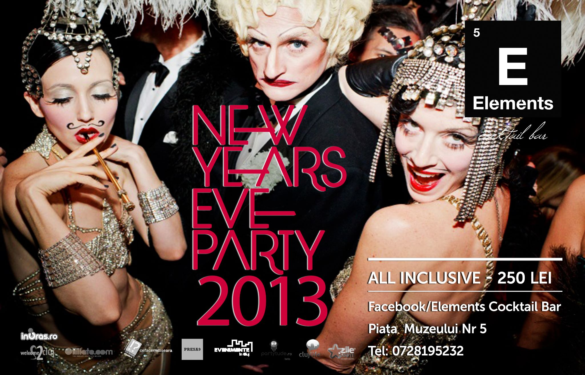 New Year's Eve Party @ Elements Cocktail Bar