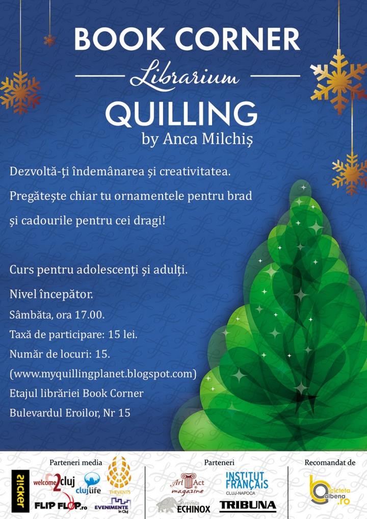 Ateliere de Quilling cu Anca Milchis