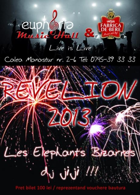 Revelion 2013 @ Euphoria Music Hall