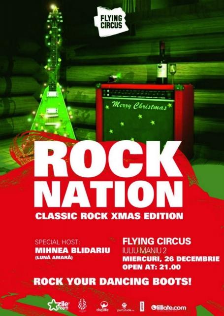Rock Nation – Xmas Edition @ Flying Circus Pub