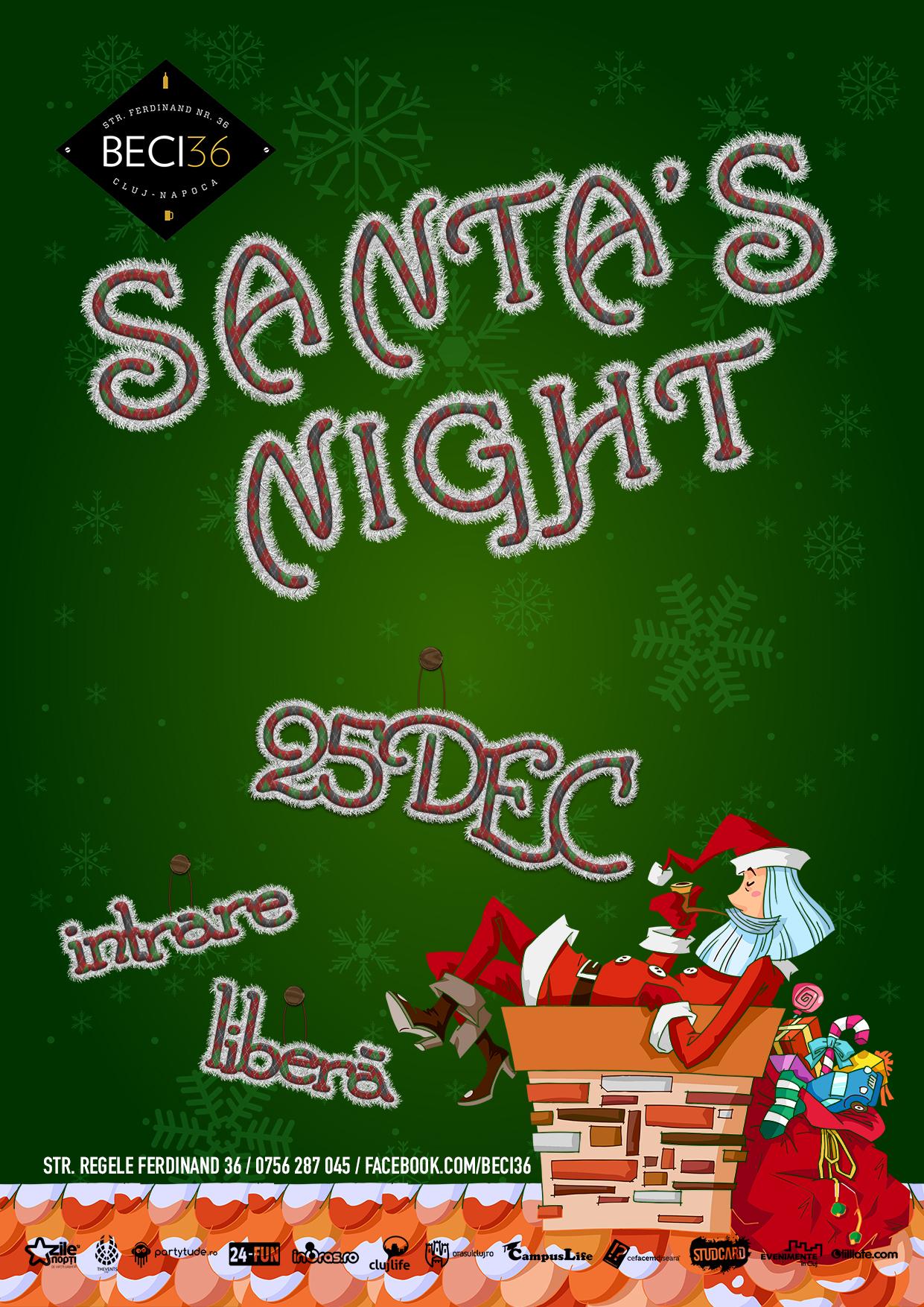 Santa's Night @ Beci 36