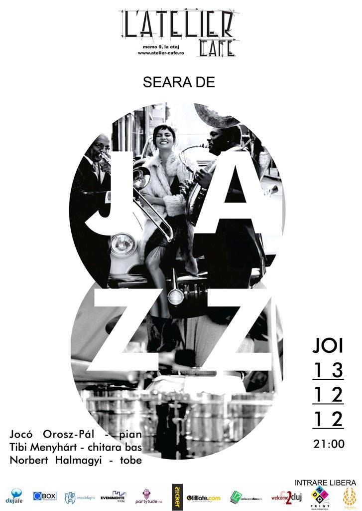 Seara de jazz @ L'Atelier Cafe