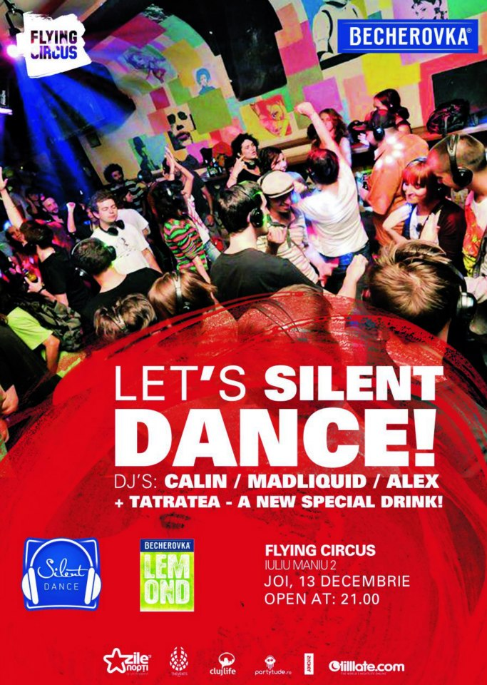 Silent Dance Party @ Flying Circus Pub