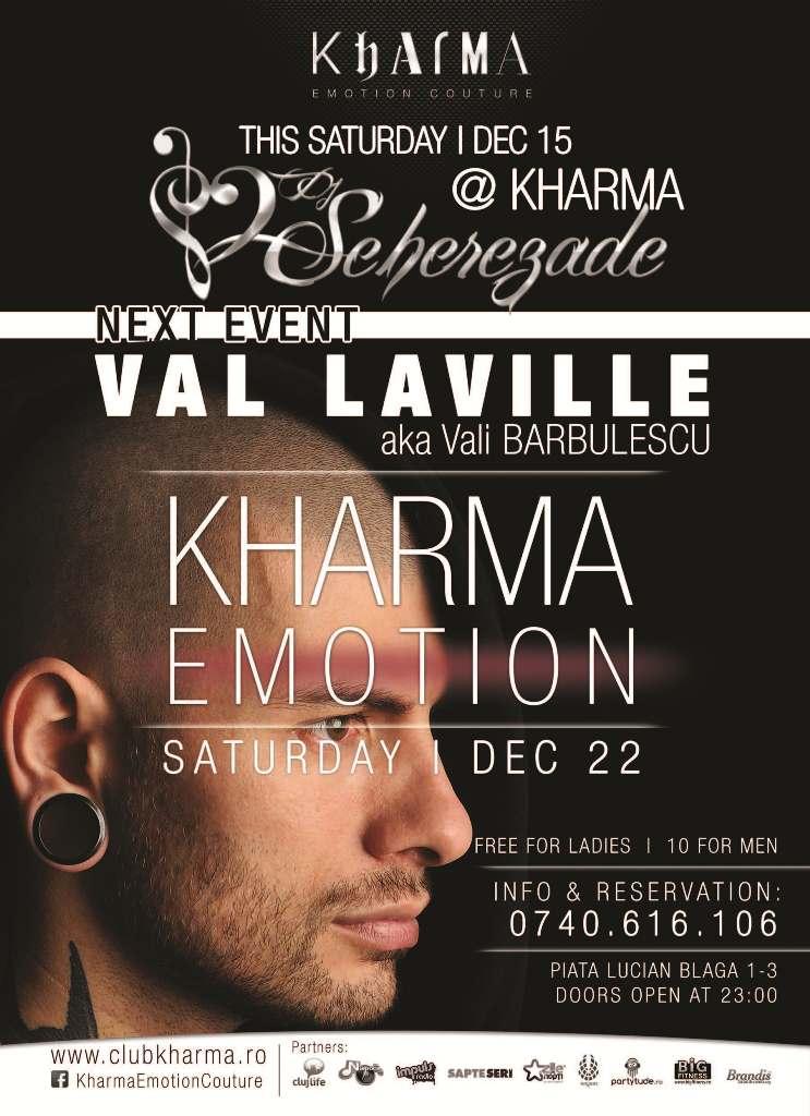 Val Laville @ Club Kharma