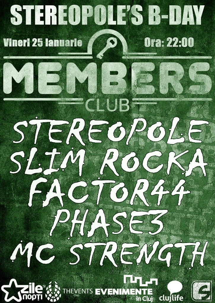 Stereopole's B-day @ Members Club
